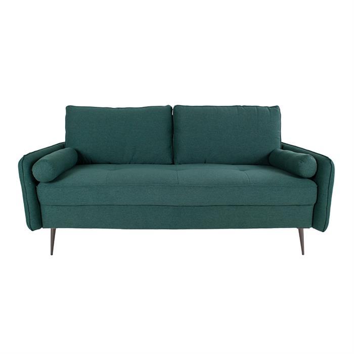 House Nordic – Imola – 2,5-Personers sofa (grøn/sort) –