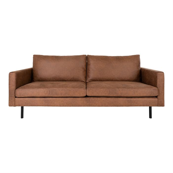 House Nordic – Malaga – 2,5-personers sofa (mørkebrun) –